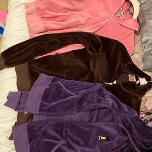 4 juicy couture hoodies